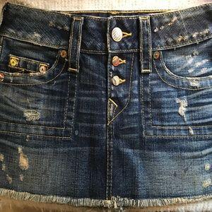 True Religion Mini Skirt SZ 26